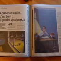 """illustrations pour le magazine """" science & vie économie"""" N°54 octobre 1989"""