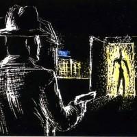 """"""" Criminal Tango """", Solweig von Kleist, 1985"""