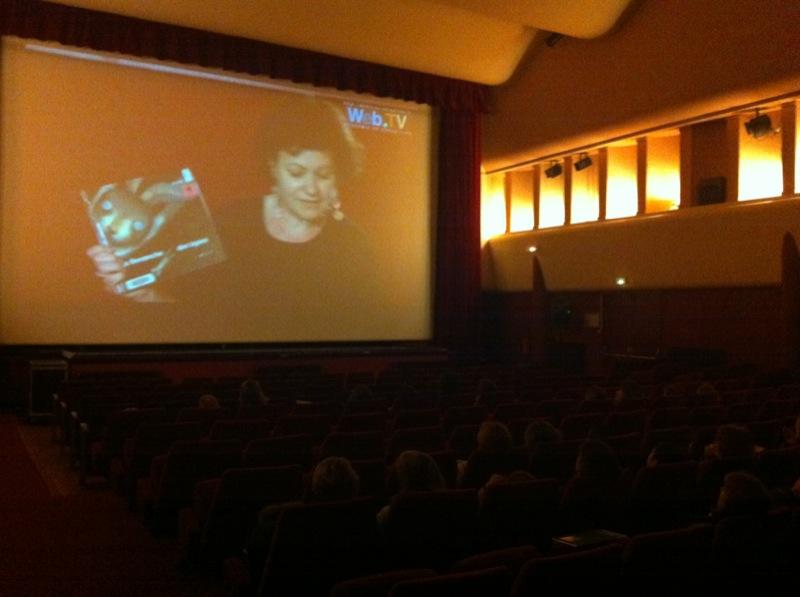 Projection conférence dans un cinéma du Val d'Oise