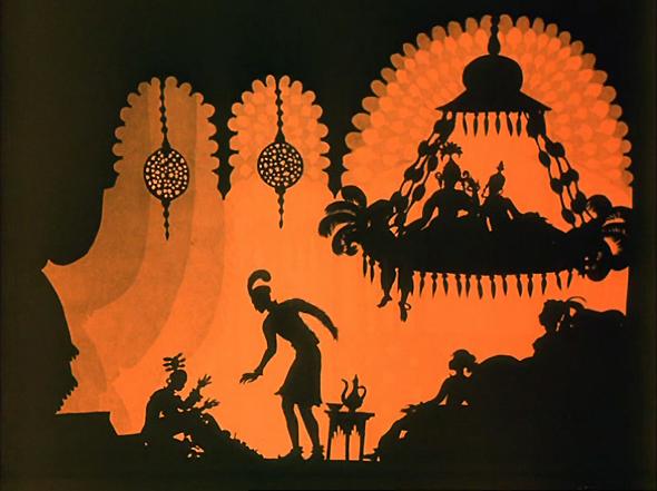 Les aventures du prince Ahmed de Lotte Reiniger, 1926