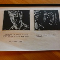 """storyboard du clip              """" Underground """" Solweig von Kleist"""