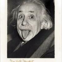 Einstein photographié par Arthur Sasse, 1951