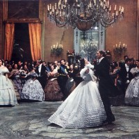 Claudia Cardinale et Burt Lancaster dans le Guépard de Visconti, 1963