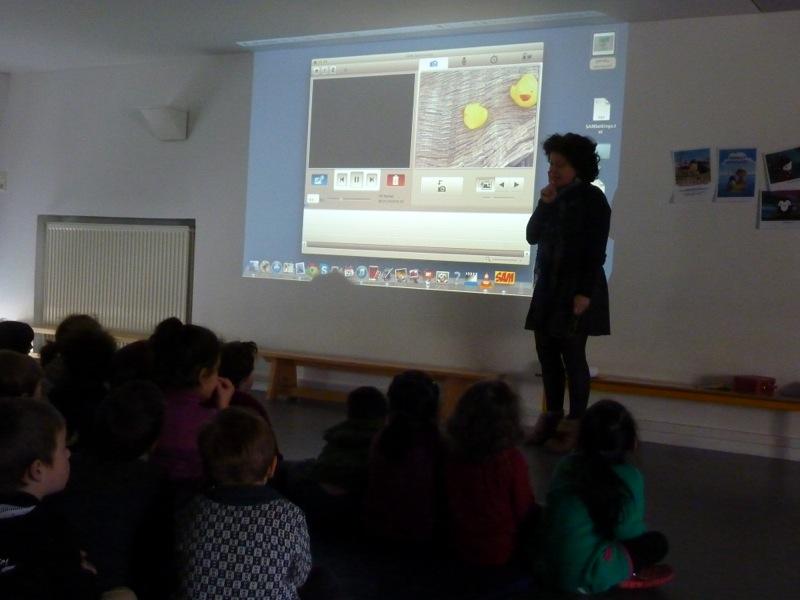 Ecole maternelle de la rue Legouvé - 25/03/13