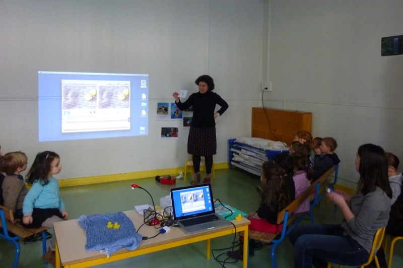 Ecole maternelle, rue des Archives, PARIS- 22/03/13
