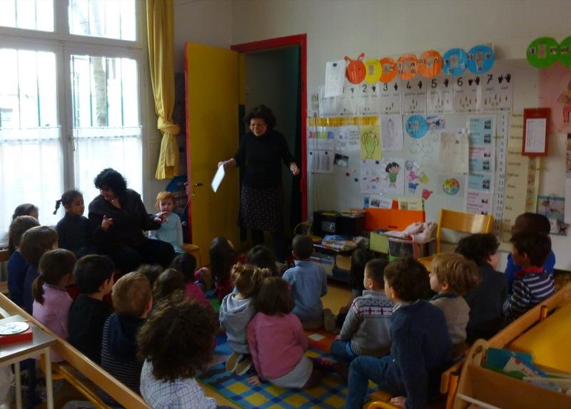 Ecole maternelle de la rue des Archives - 22/03/13