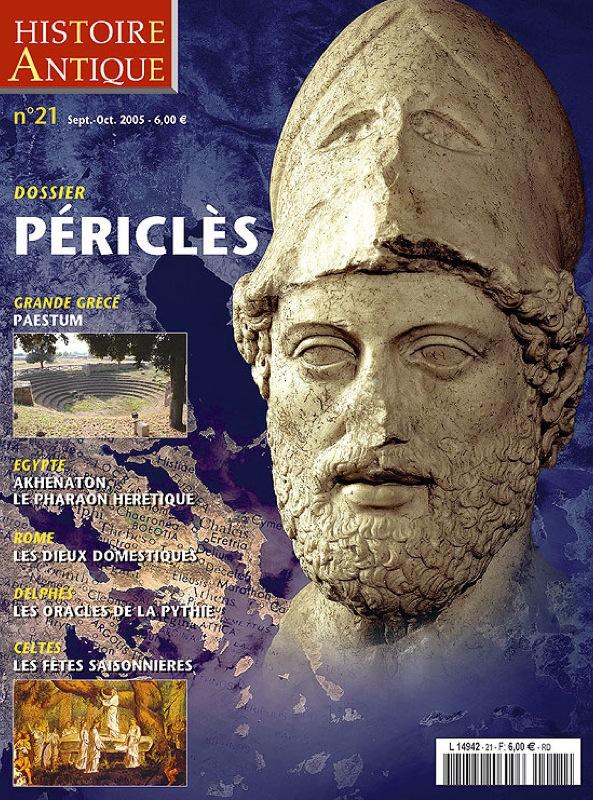 """Couverture de la revue """"Histoire Antique"""" Sep-Oct 2005"""