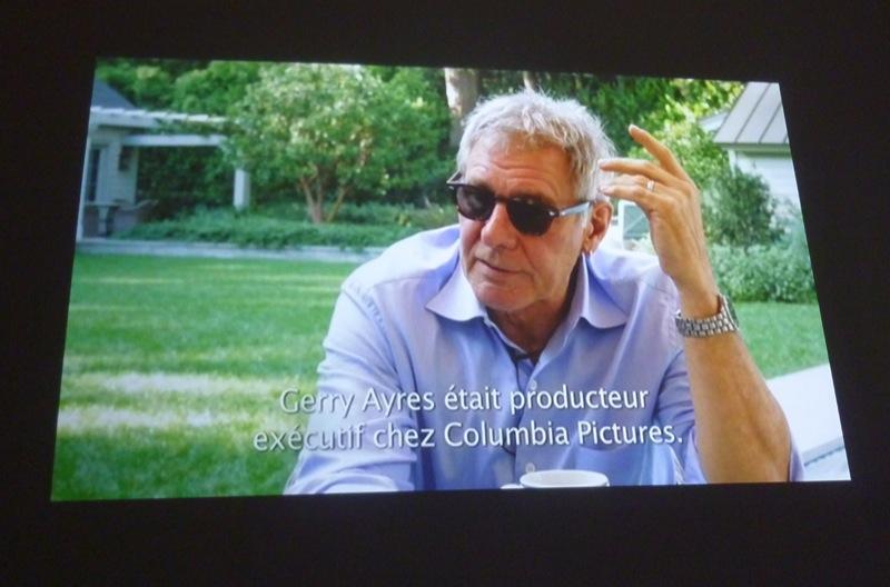 Entretien avec Harrison Ford réalisé par Rosalie Varda- 2012