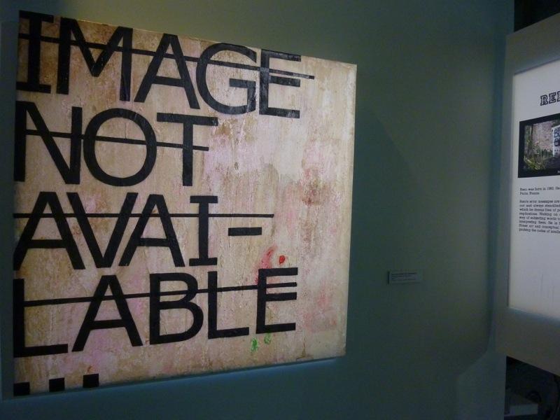 """Sans Titre, Rero, 2010, exposition """"Au delà du Street Art"""" Musée de la poste"""