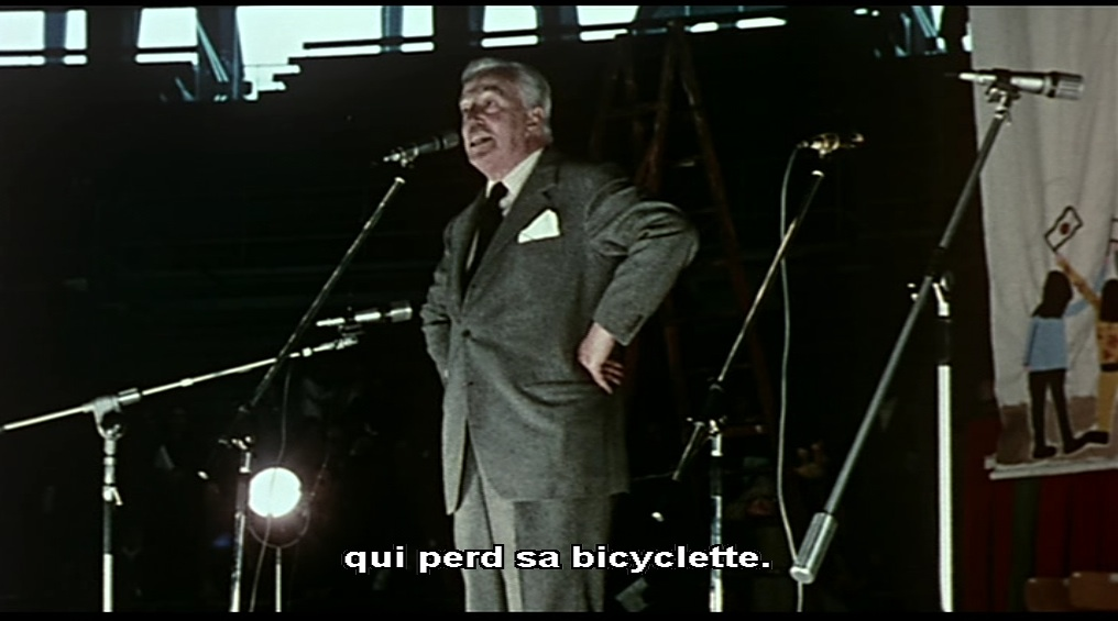 """Vittorio De Sica""""Nous nous sommes tant aimés"""" d'Ettore Scola, 1974"""