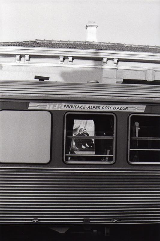 «La Ciotat, la gare et les frères Lumière», Bernard Plossu, 1995
