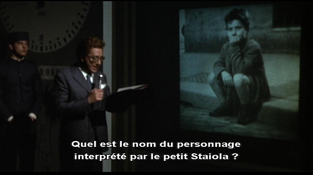 """Le jeu télévisé""""Nous nous sommes tant aimés"""" d'Ettore Scola, 1974"""