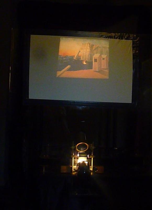 Théâtre optique d'Emile Reynaud, Autour d'une cabine