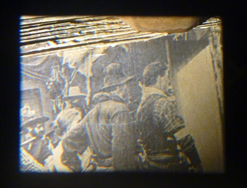 Une des images du mutoscope, un des premiers  westerns ?