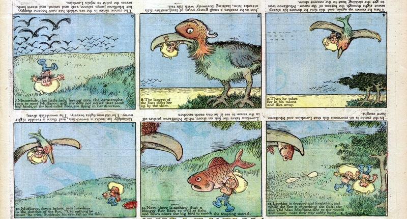 Gustave Verbeek upside down comic part 2
