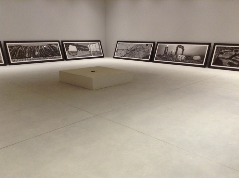 Josef Koudelka au Pavillon du Vatican, Biennale de Venise, 2013