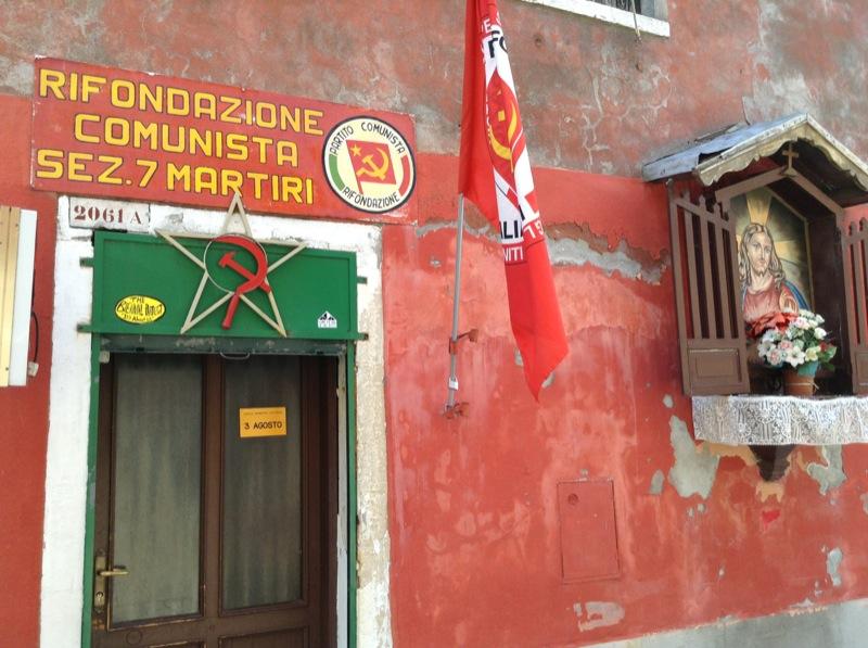 Dans une petite rue près de l'Arsenal de Venise, 19 juillet 2013