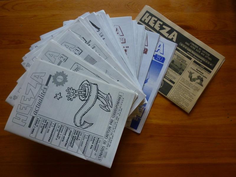 Les catalogues HEEZA des premiers âges