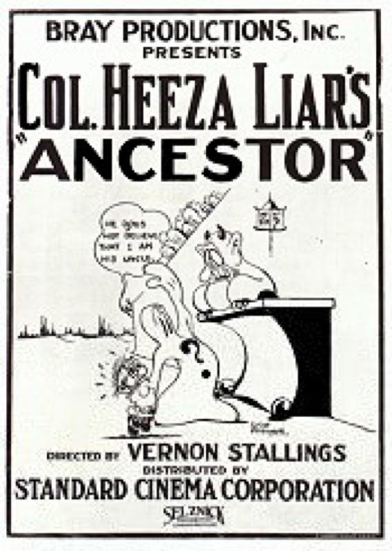 Colonel Heeza Liar's Ancestor, 1924