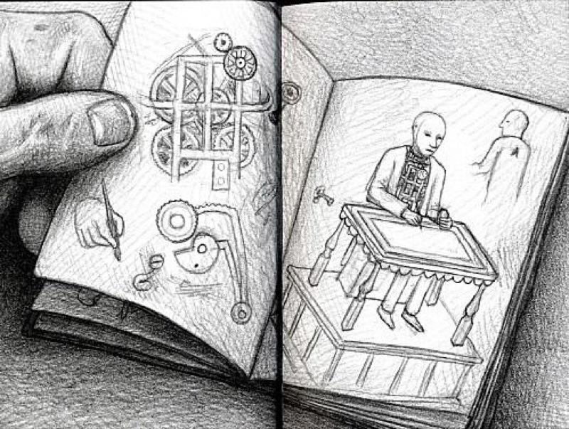 """""""L'invention d'Hugo Cabret"""" de Brian Selznick"""