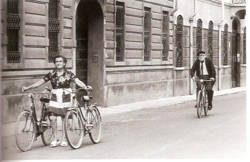 """""""Cesare Zavattini, Luzzara"""" de Gianni Berengo Gardin, 1973"""