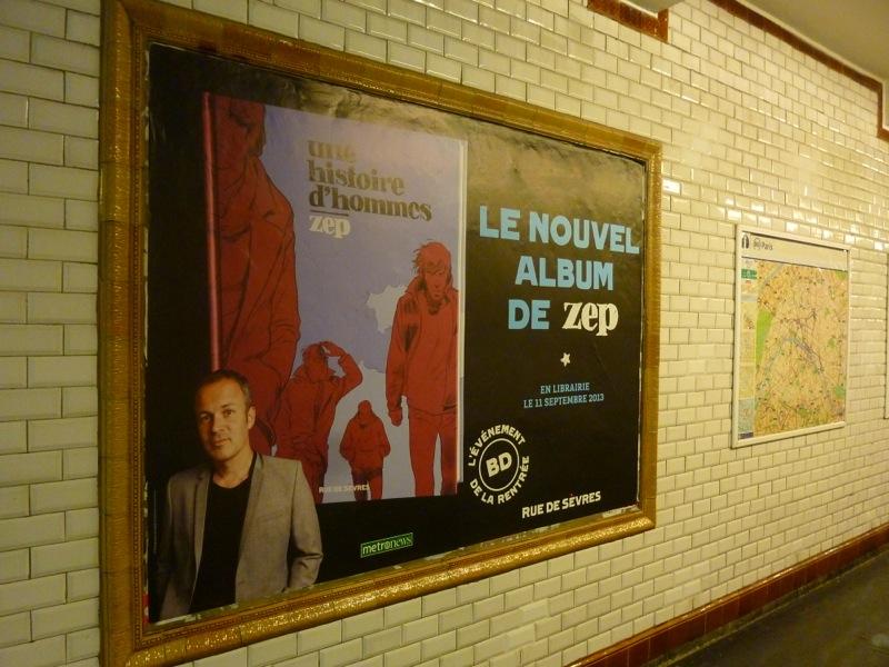 Campagne d'affichage dans le métro, 10/09/13