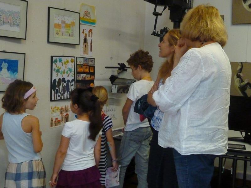 Master class de Zoia Trofimova, Kino à Issy les moulineaux, 28/09/2013