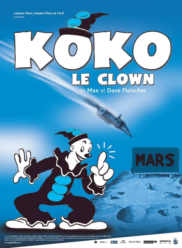 "Affiche ""Koko le clown"" , 2 octobre 2013"