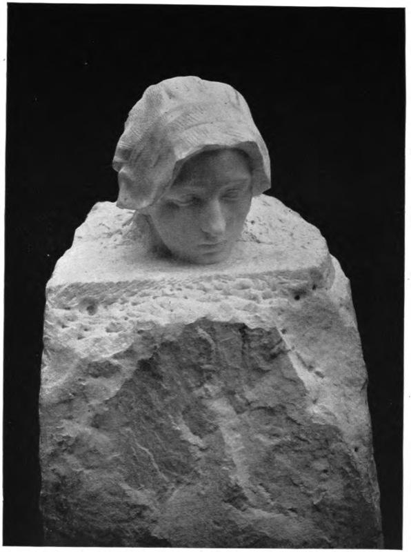 La penséed'Auguste Rodin, vers 1895