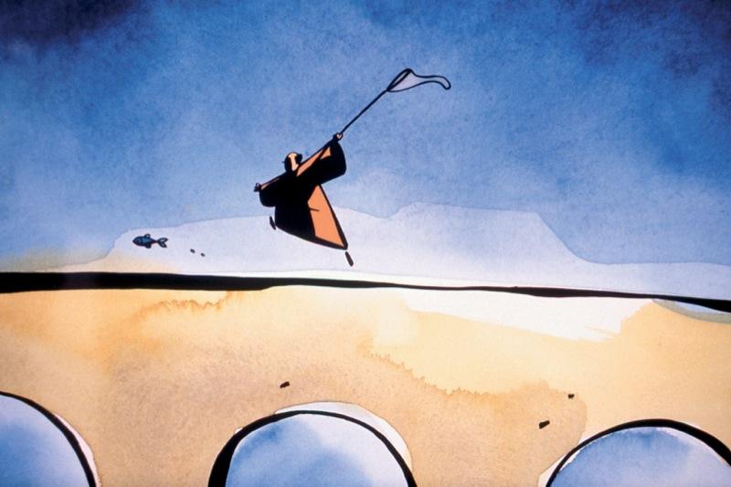 Le moine et le poisson de Michael de Wit, 1994