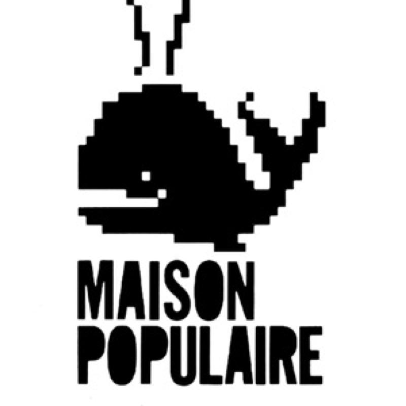 Le logo de la Maison Populaire de Montreuil
