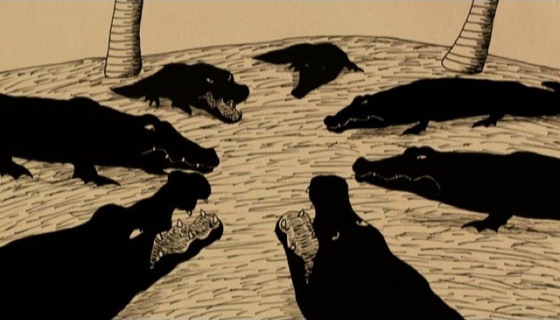 Le vieux crocodile de Kôji Yamamura, 2005