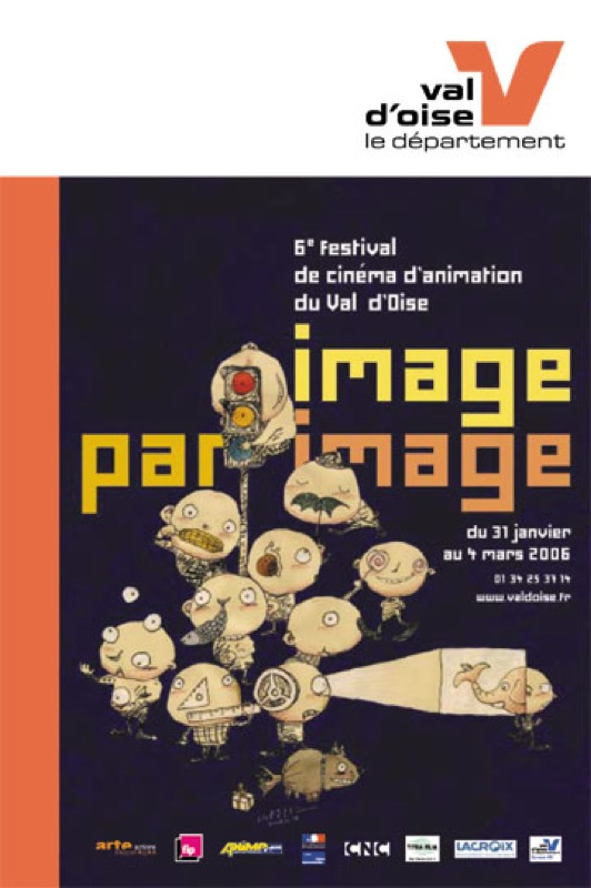 """Affiche du festival """"Image par Image"""" 2006"""