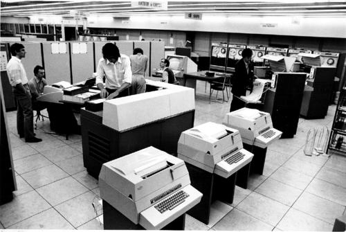La CII 10070 de l'IRIA (vers 1973)