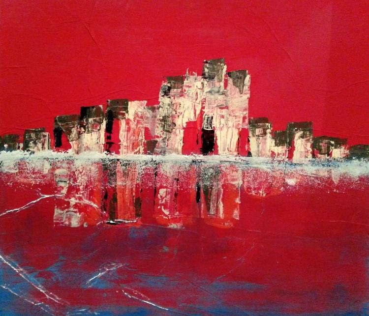 """Reflets"" de Paul Maz, 2014"