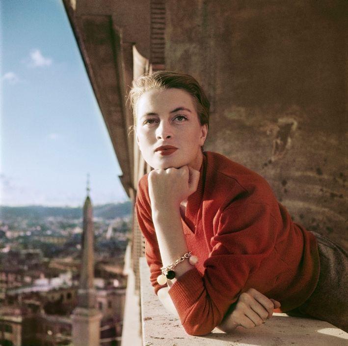 Capucine à Rome, 1951, © Robert Capa, © ICP