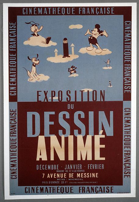 Exposition du dessin animé1945-46 © ADAGP, Paris, 2014