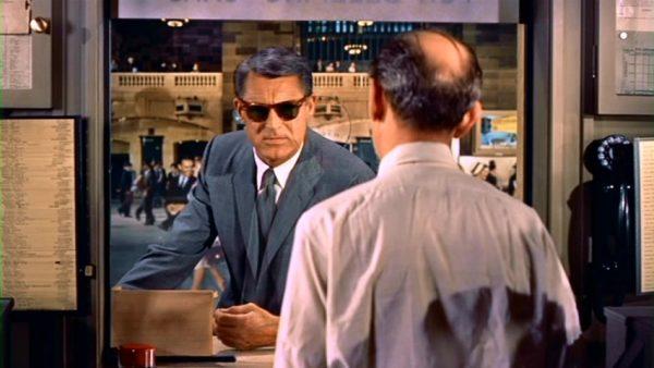 """La gare de Grand Central dans """"La mort aux trousses"""" d'Alfred Hitchcock, 1959"""