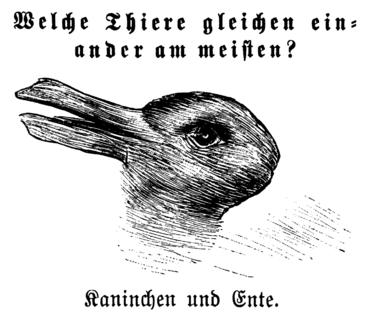 Lapin-canard, Fliegende Blätter, 1892