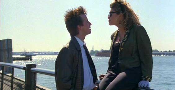 """Parc Battery dans """"Recherche Susan désespérément"""" de Susan Seidelman, 1985"""