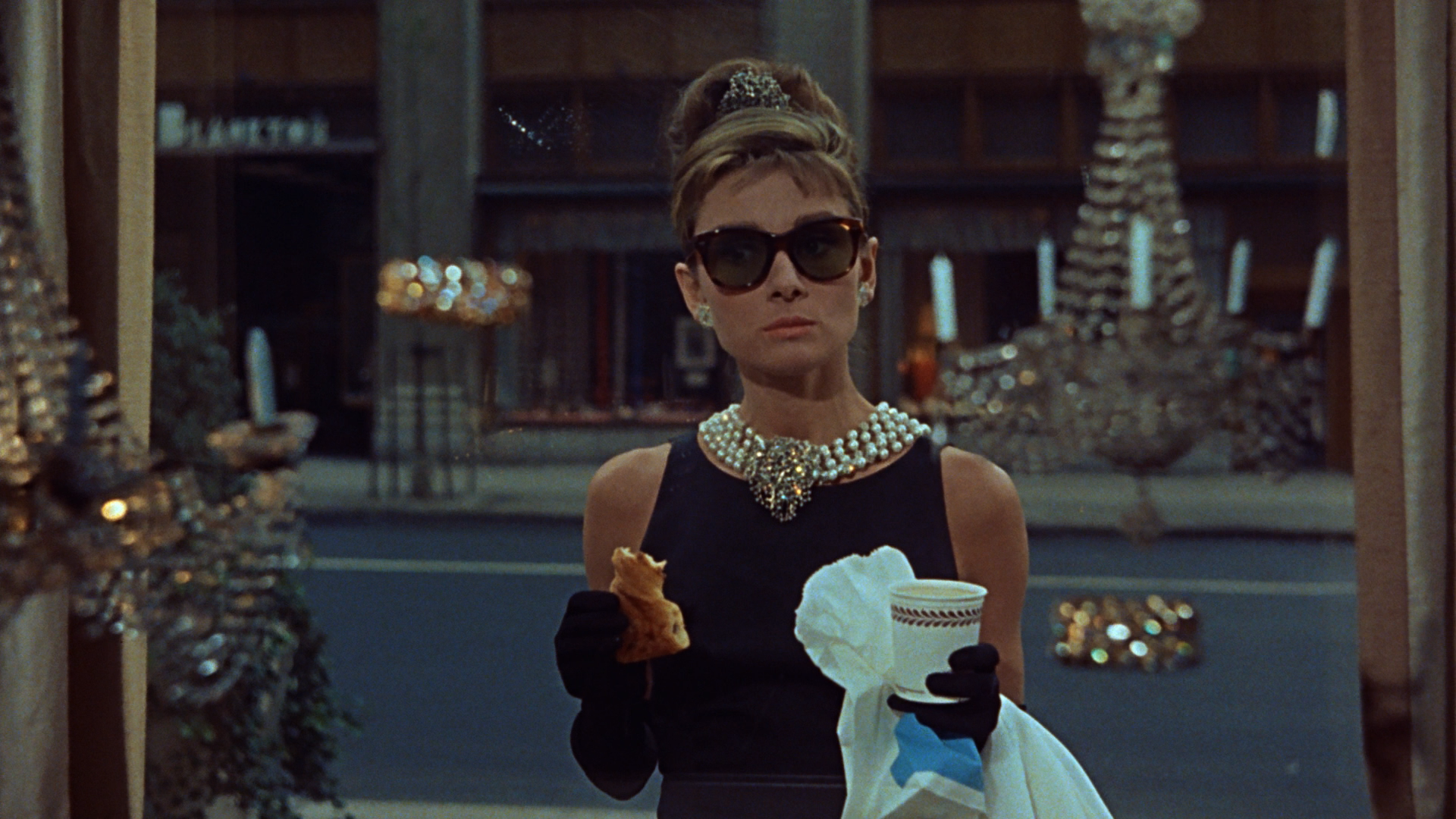 "Tiffany and Co dans ""Diamants sur canapé"" de Blake Edwards, 1961"