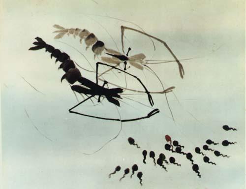 Les têtards à la recherche de leur maman de Te Wei, 1960