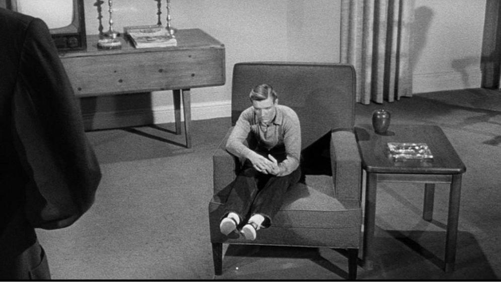 Photogramme de l'homme qui rétrécit, Jack Arnold, 1957