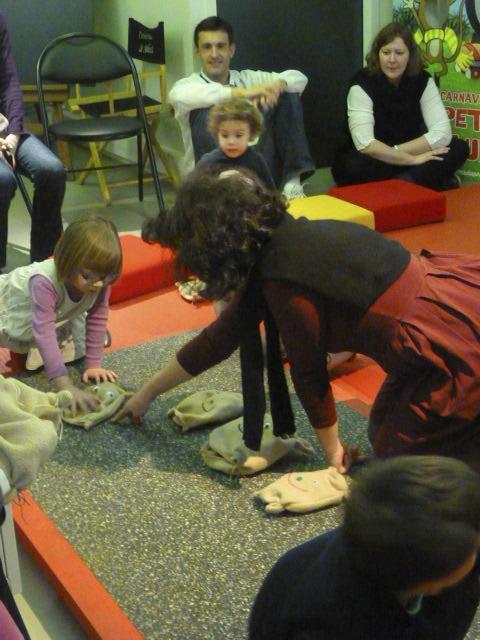 """Quand on a 3 ans, bouger son doudou """"petit à petit"""" est une grande aventure..."""