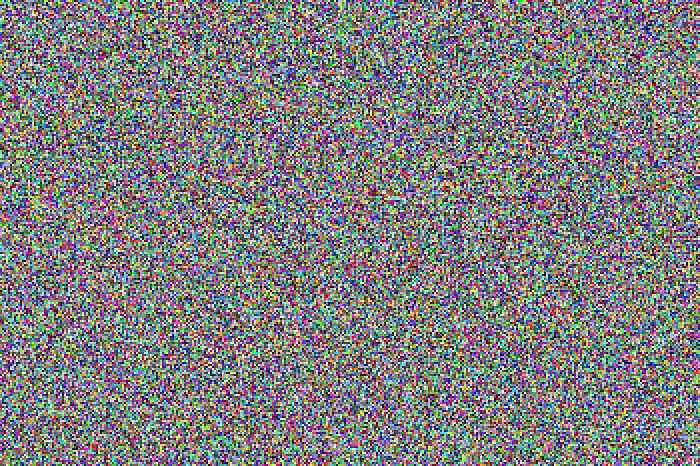 16.777.216 Farben (détail) d' Adrian Sauer, 2010