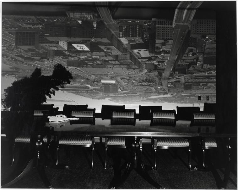 Camera obscura, Image de Boston d'Abelardo Morell, 1998