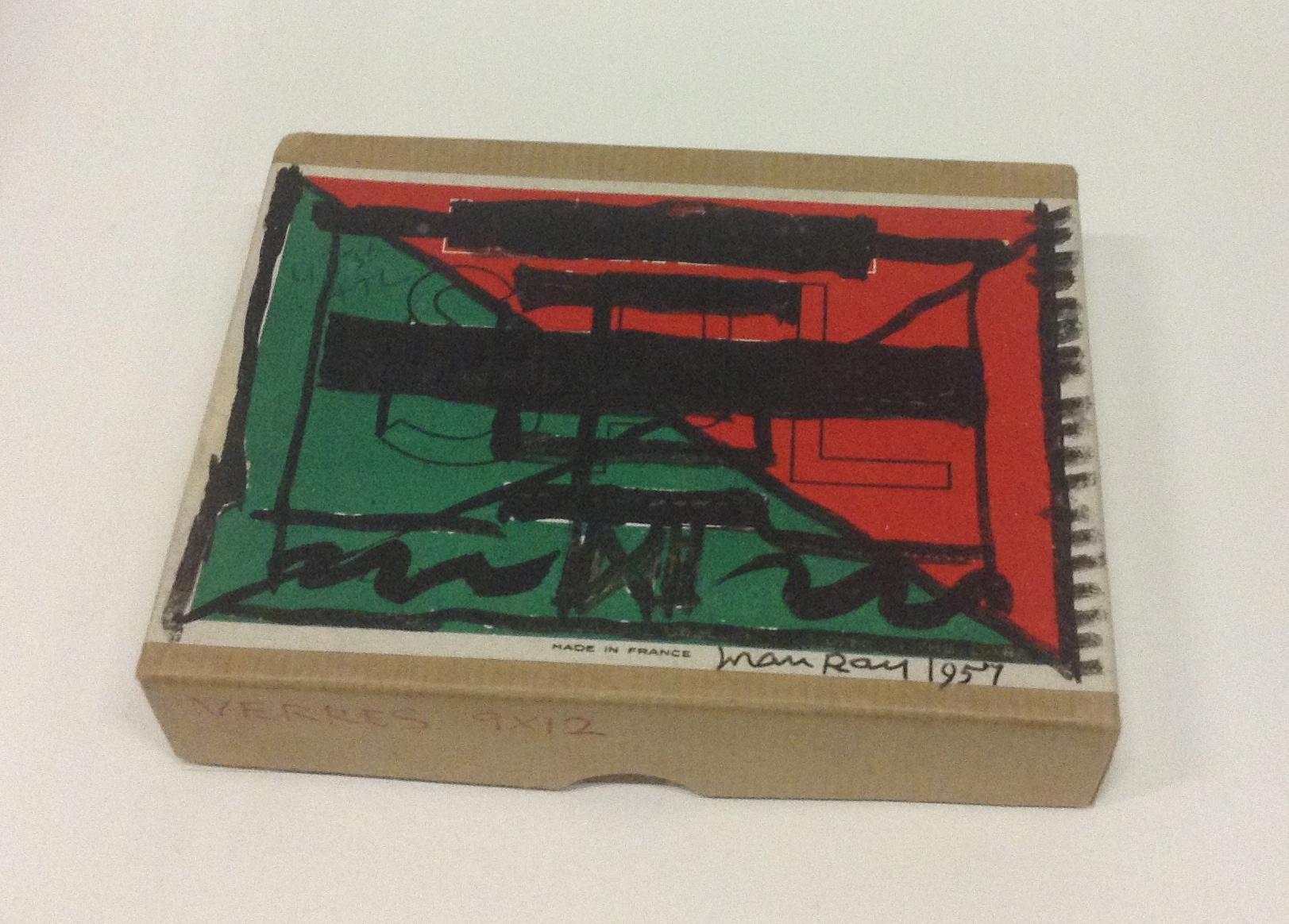 Boîte de négatifs, Man Ray, 1957