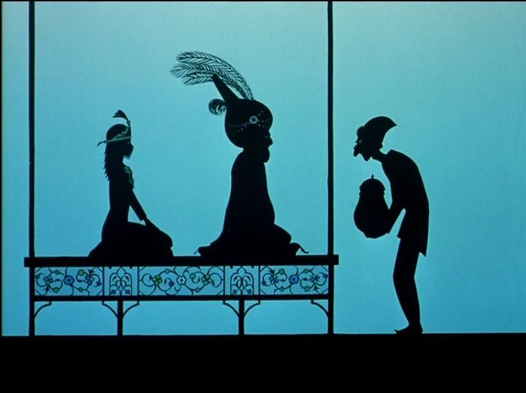 """""""Le prince des joyaux"""" de Michel Ocelot, 1995"""