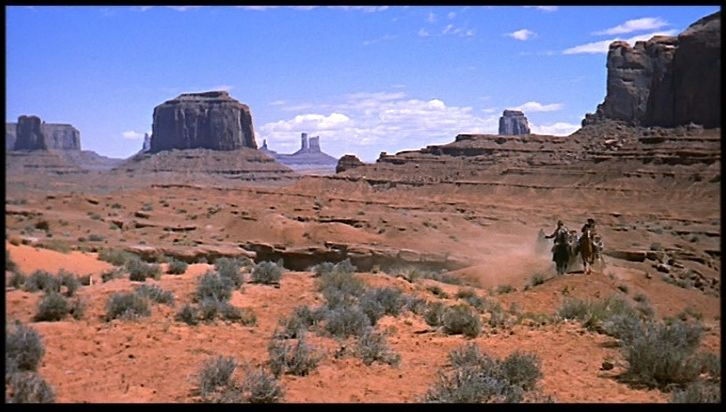 La Prisonnière du désert de John Ford, 1956