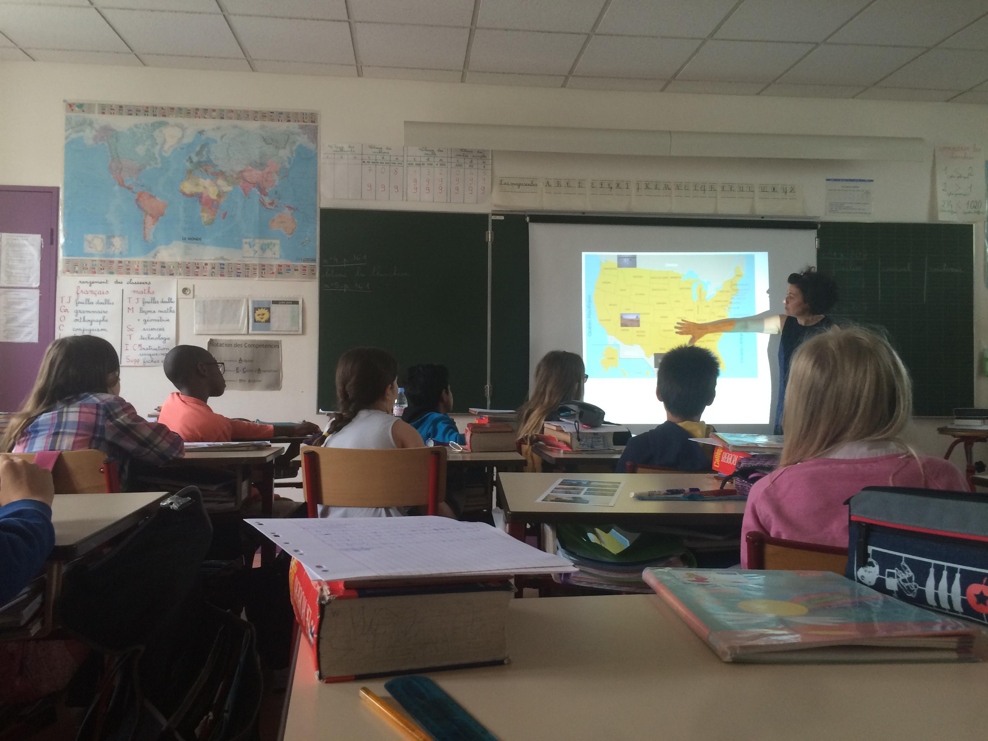 La classe de CM1 de Sylvie Ginet